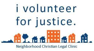 2014 I Volunteer For Justice Car Magnet 2-Color