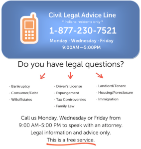 Civil Legal Advice Line