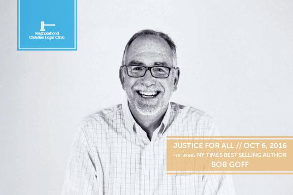 Justice For All Keynote - Bob Goff